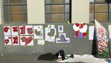 Stencil and Spray Workshop for Teens