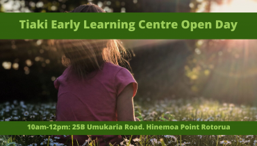 Tiaki Early Learning Centre Open Day
