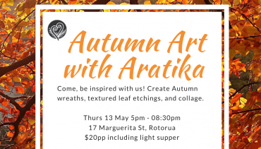 Autumn Art with Aratika