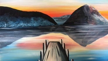 Paint and Wine Night –  Sunset at the Wharf