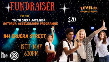Fundraiser: Rotorua Accelerando Programme