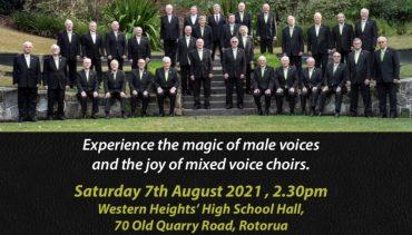 NZ Male Voice Choir and Rotorua District Choir
