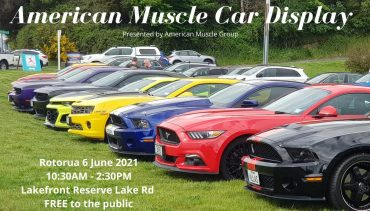 American Muscle Car Display