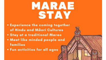 Marae Stay – Coming Together of Hindu and Māori Communities