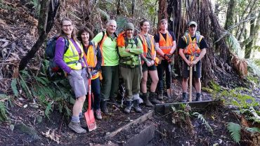 Volunteer for the Department of Conservation – September