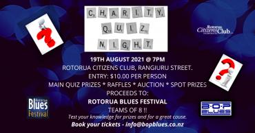 Bop Blues Club Charity Quiz Night