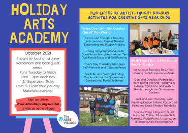 October Holiday Arts Academy
